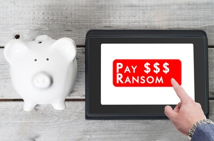 Ransomware. Latest online threat.