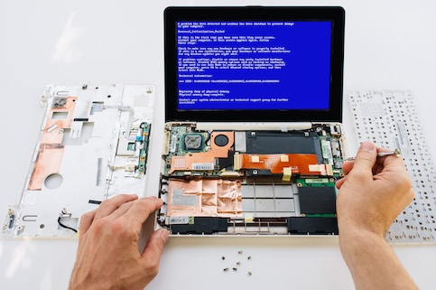 Can data be saved from a broken computer?